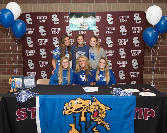 Riley Gaines Signs with the University of Kentucky - November 14, 2017