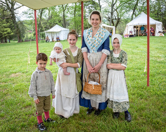 Bledsoe's Fort Colonial Fair - May 4, 2018