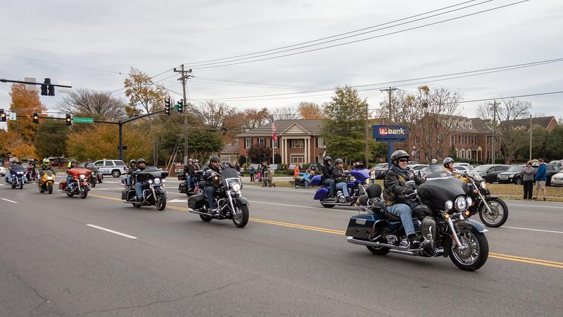 Hendersonville Veterans Parade - November 4, 2018