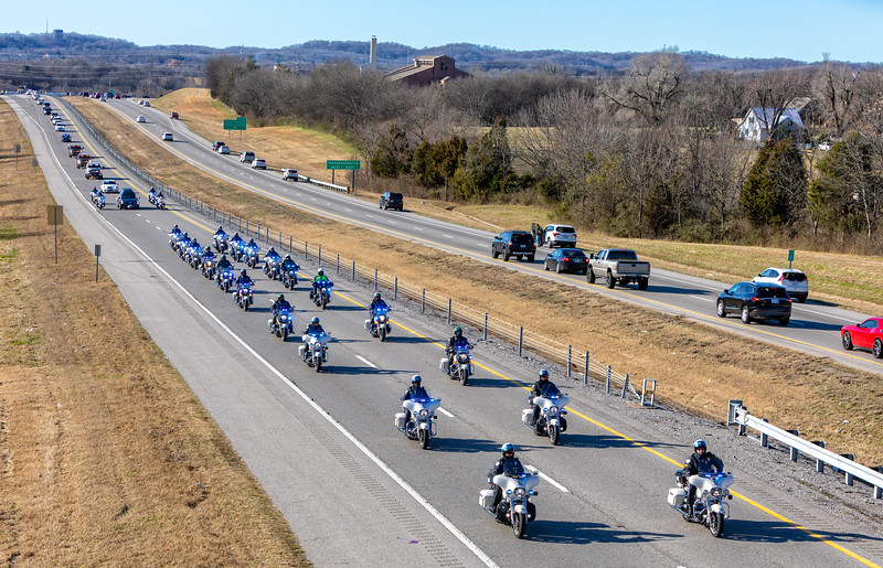 End of Watch - Hendersonville Police MPO Spencer Bristol