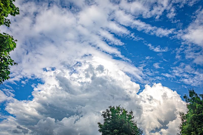 Storm Clouds over Hendersonville - May 24, 2020