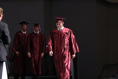 Matt Murray starts his final approach toward graduation