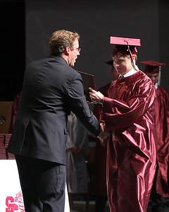Mr. Crook congratulates Matt Murray