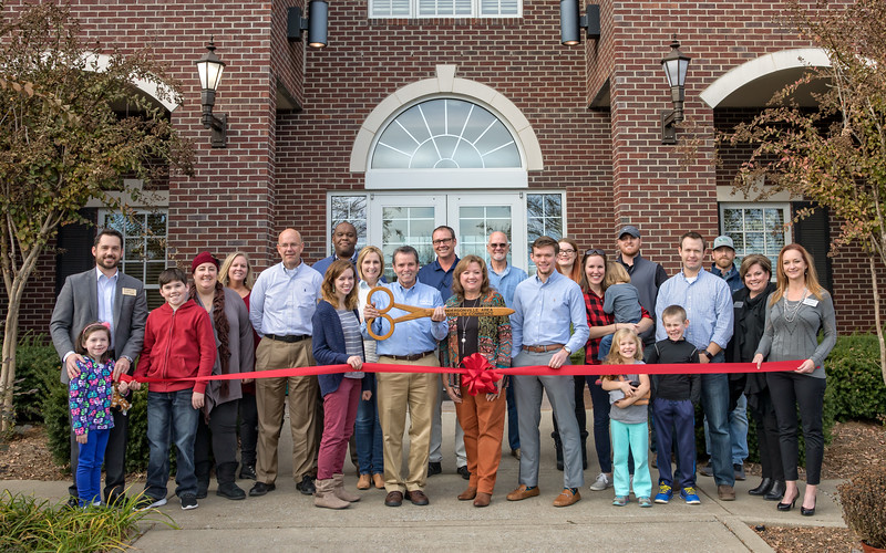 Mike Roy Roofing Ribbon Cutting - November 21, 2017