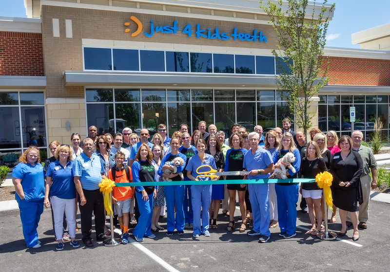 Just 4 Kids Teeth Ribbon Cutting - July 27, 2018