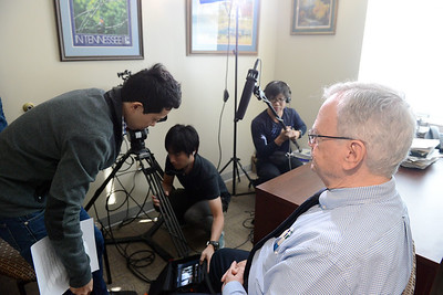 Japanese Public TV film in Biology Department