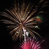 Wildhorse Casino 20th Anniversary celebration; fireworks display