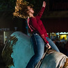 Mechanical bull riding; Main Street, Pendleton