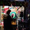 Airbrush artist; Main Street, Pendleton