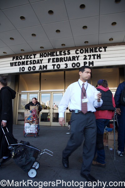 Project Homeless Connect #21<br /> Bill Graham Civic Center Auditorium