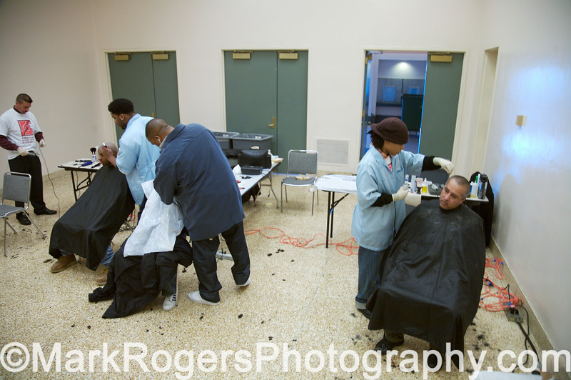 Project Homeless Connect Barber Station