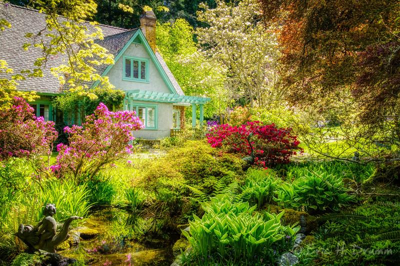 Spring Gardens, Milner House, Qualicum Beach, BC