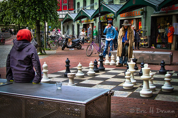 Chess Challenge, Max Euwe Plein, Amsterdam, Netherlands
