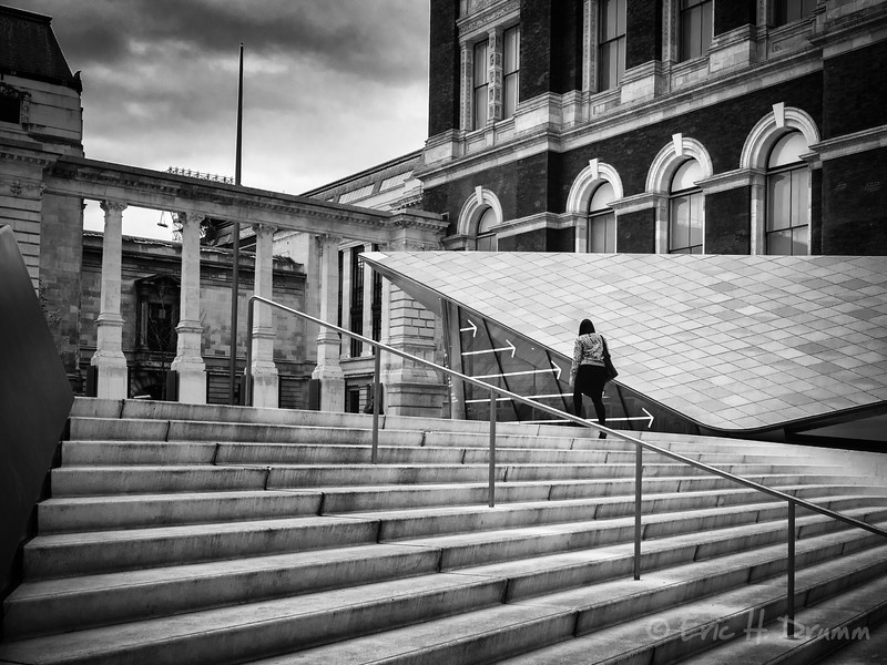 Wrong Way, Victoria & Albert Museum, London, England