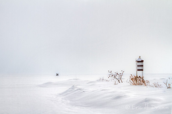 Lake Simcoe Winterscape, Hawkstone Harbour, Ontario