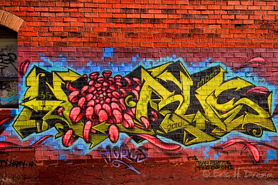 At the Five Restaurant (2011), Barrie - Toronto Street Art