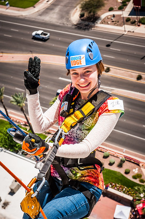 Girl Scouts SoAZ Over The Edge 2015