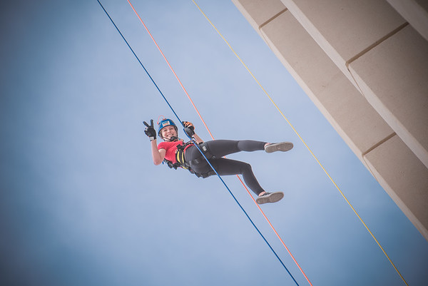 Girl Scouts SoAZ Over The Edge 2018