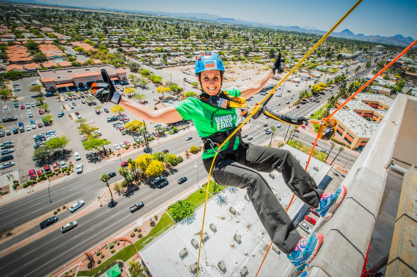 Girl Scouts SoAZ Over The Edge 2016