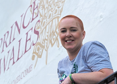 Clare Braves the Shave