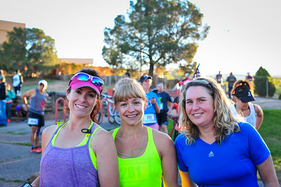 Pre-race for Half & Start