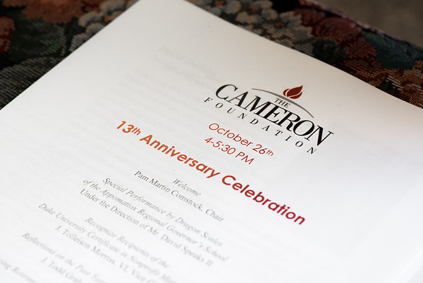 The Cameron Foundation 13th Anniversary