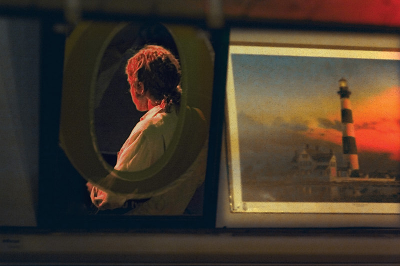 The Man and the Painting<br /> Reflected reality.<br /> <br /> In a land called Folly!