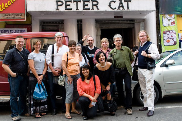 Ian, Cathy, Stephen, Georgia, Linda, Mansi, Fritz, Dilla, Laura, Eric, Peter