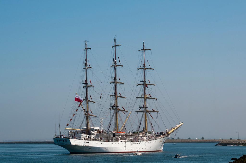 Dar Mlodziezy<br /> Polish sail training ship