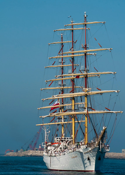 Dar Mlodziezy<br /> Polish sail training ship
