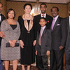 03-28-2010...2010 Ramapo High School Athletic Hall of Fame inductee, Lloyd Osafo (left) and family.<br /> PHOTO: KELLY BIRDSEYE