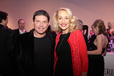 Kenny Goss and Jerry Hall at MTV Redefine at Dallas Contemporary on 040414 © 2014 Jerry McClure