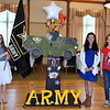 Debby High — For Montgomery Media<br /> Jovannah Peppleman, Lexi Horne and Natalie Rhodes participate in the Salute to the Armed Forces program.