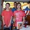 Debby High — For Montgomery Media<br /> Pennridge Central Middle School band members Nathan Boyd and William Jerdan finish playing for Salute to the Armed Forces.