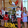 Debby High — For Montgomery Media<br /> Alyson Coddington, Charlotte Cullen, MJ McPherson and Autumn Barnes represent the U.S. Marine Corps in the program.
