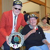 Debby High — For Montgomery Media<br /> Veterans Jim Kain and Harry Overbaugh at the Salute to the Armed Forces held at the Pennridge Community Center.