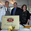 Debby High — For Montgomery Media<br /> Matt Caffrey, owner of Chambers 19 Bistro & Bar, stands in between assistants Bill Heine and Deb Morris during Pearl S. Buck International's 11th annual Taste of the World event Friday, May 15.