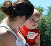 Brennen Kratz won 3rd for biggest eyes in Pennridge Community Day annual baby parade July 6, 2014. Photo by Debby High
