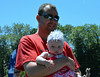 Lauryn Crockett, won 1st for Cutest Cheeks in Pennridge Community Day annual baby parade July 6, 2014. Photo by Debby High