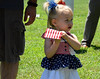 Aubree Lynne Camasta, of Pennsburg, won 2nd for Most Hair in Pennridge Community Day annual baby parade July 6, 2014. Photo by Debby High