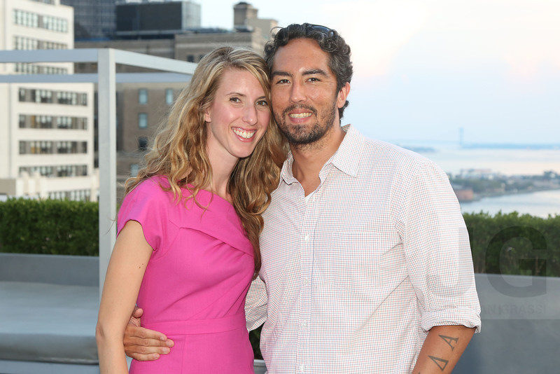 Kristina Paces and Town Residential host a rooftop soiree at 88 Greenwich Street<br /> New York City, USA - 07.18.13<br /> Credit: J GRASSI