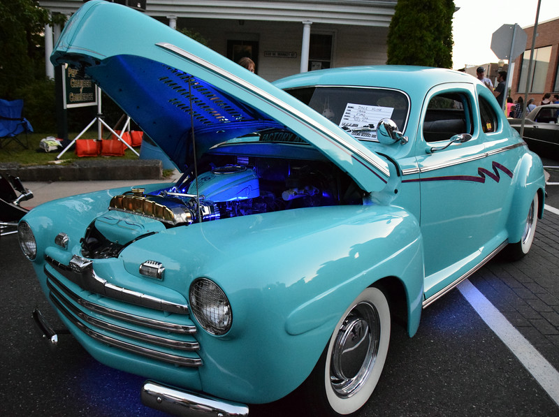The 16th annual Perkasie Under the Stars Car Show takes over the borough Saturday, Aug. 16. Montgomery Media photo / DEBBY HIGH