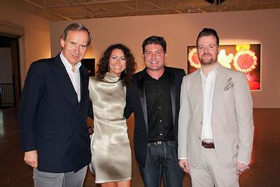Simon de Pury, Georgia Arnold, Kenny Goss and Dave White