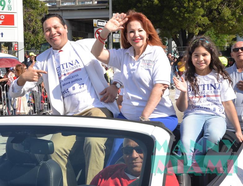 Mike Blandino, Bettina Rodriguez Aguilera