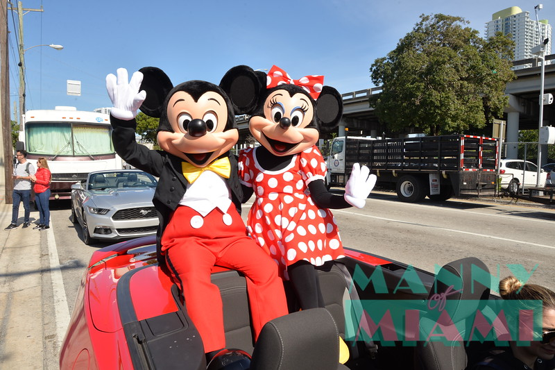 Micky Mouse, Minnie Mouse