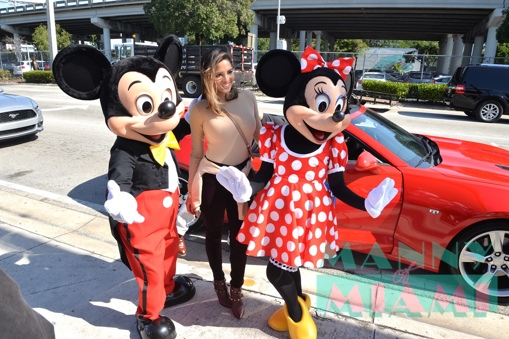 Pamela Silva-Conde,  Micky Mouse, Minnie Mouse