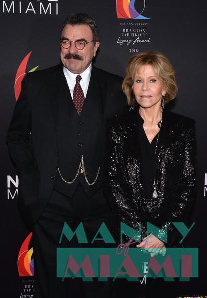 Tom Sellick, Jane Fonda