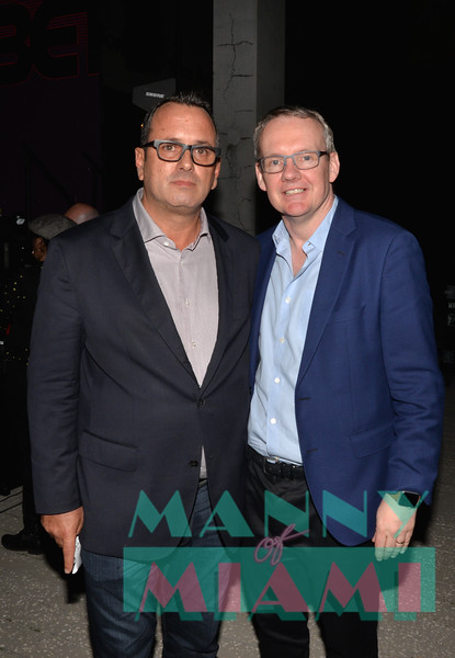 Viacom International President America Pierluigi Gazzolo and David Lynn, Viacom International Media Networks President