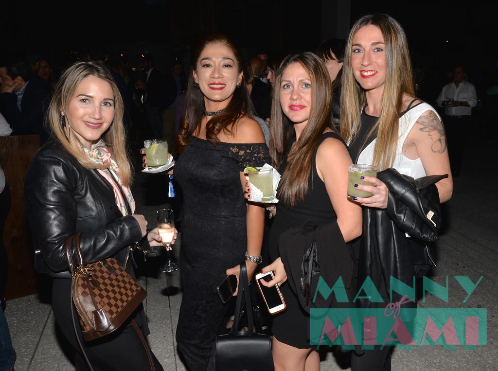 Maria Paola Gonzalez, Natalie Espinoza, Arline Marti, Enara Asolo