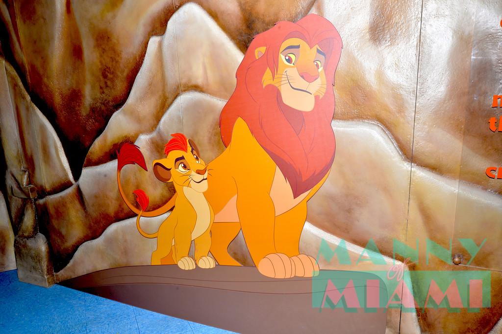 The Lion Guard Exhibit